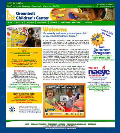 Greenbelt Childrens Center